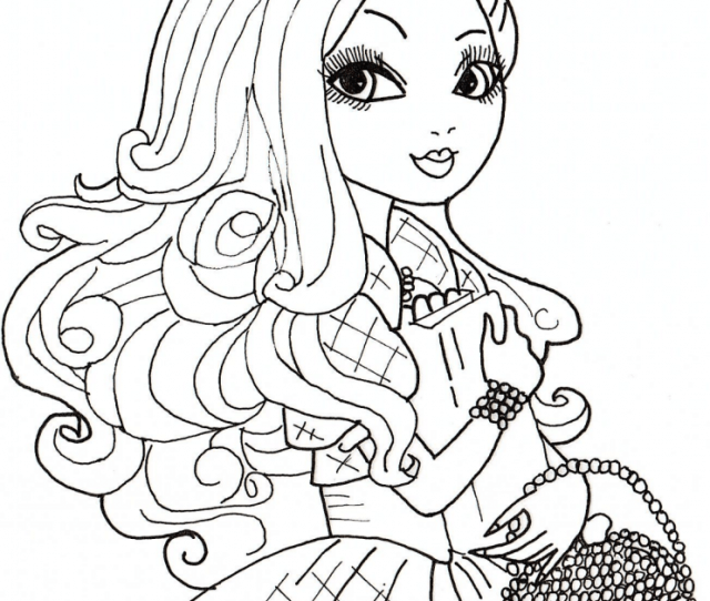 Ever After High To Color For Kids Ever After High Kids Coloring