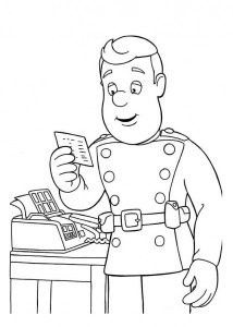 fireman coloring page # 61