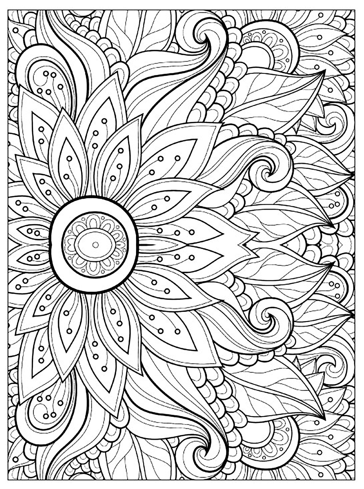 Flowers to download for free - Flowers Kids Coloring Pages   coloring sheets for flowers