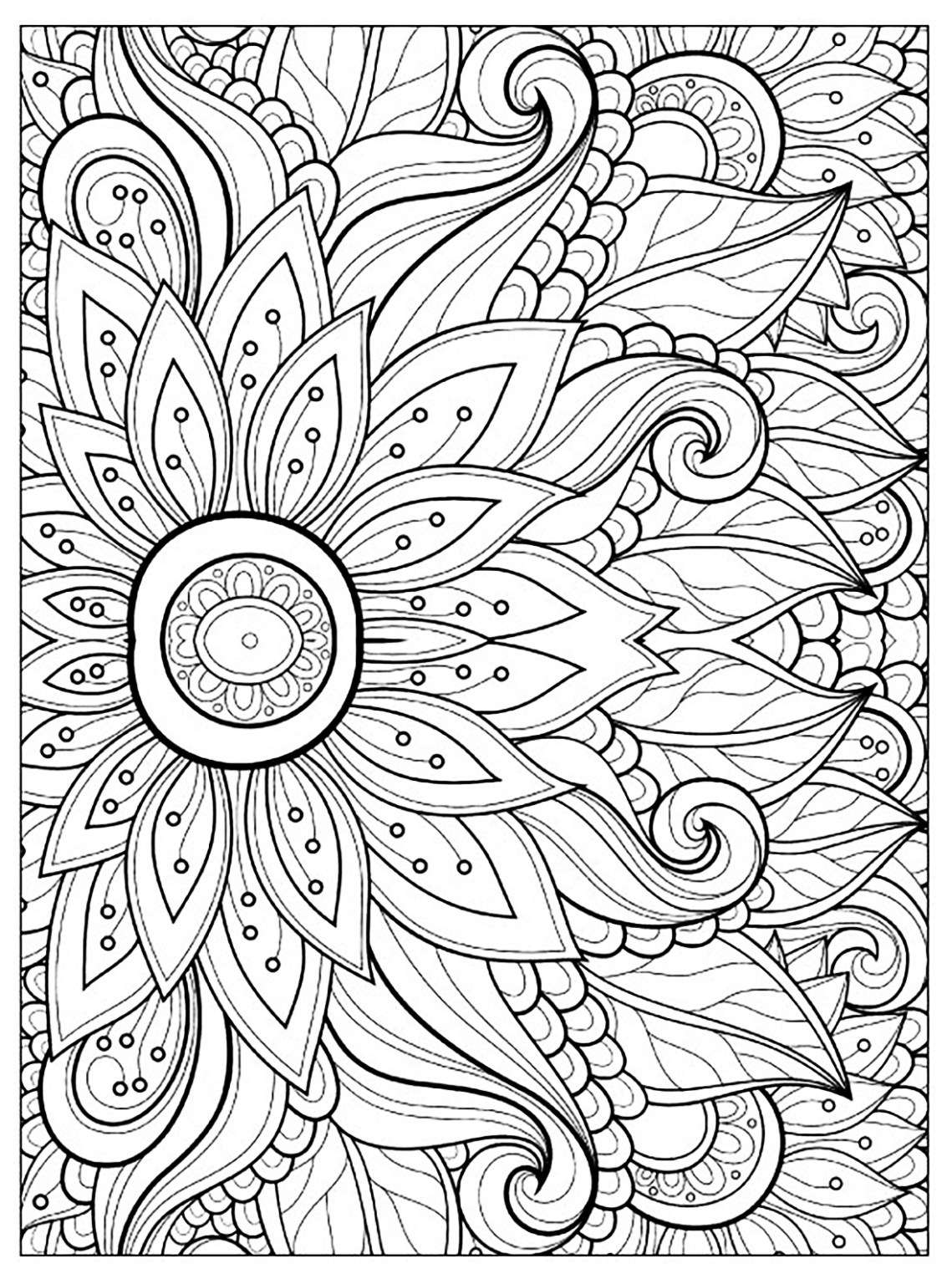 Flowers to download for free - Flowers Kids Coloring Pages | colouring pages flowers free
