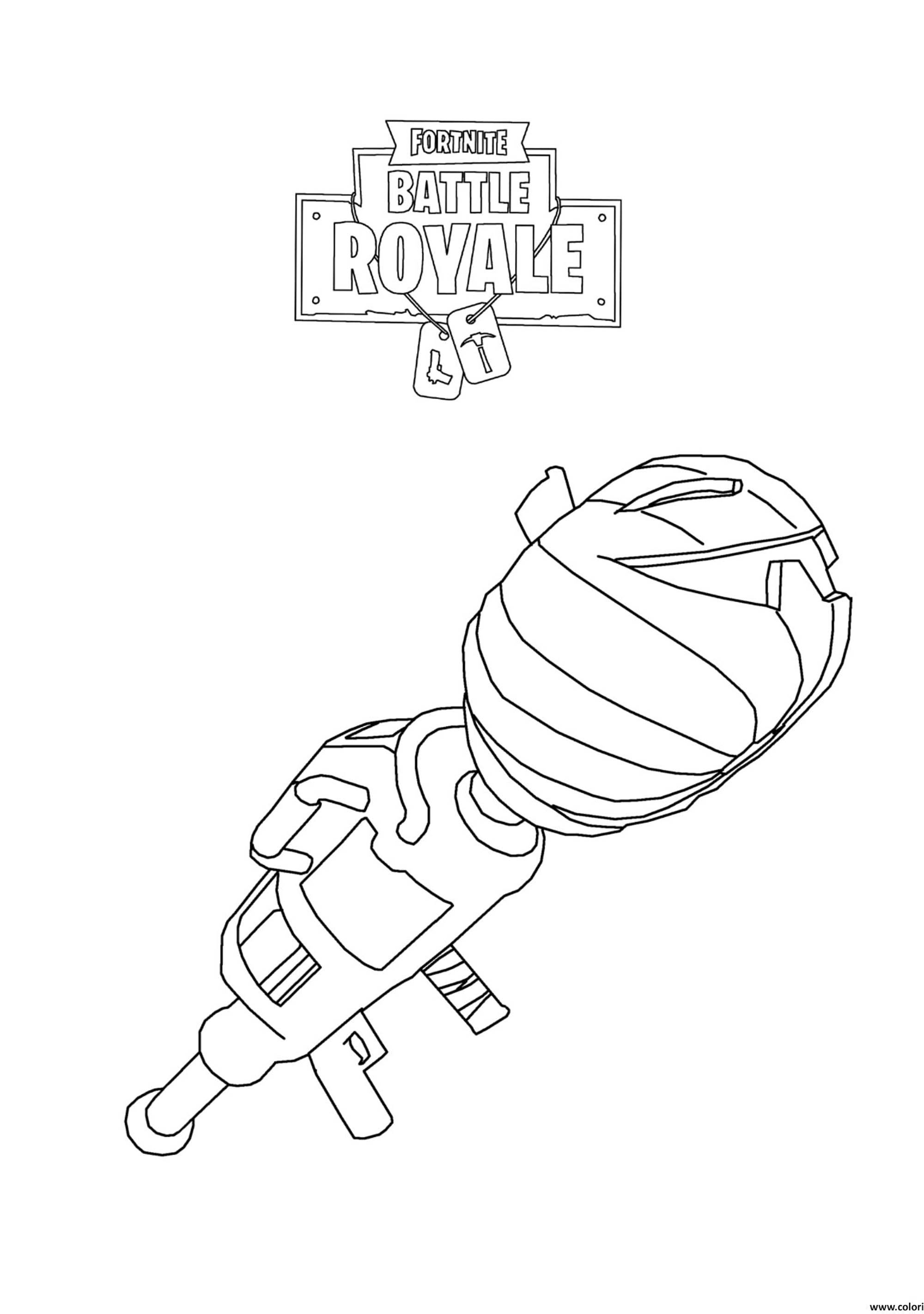 Fortnite Battle Royale Rocket Launcher Fortnite Battle