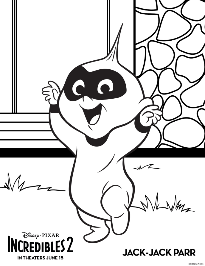Lego The Incredibles Coloring Pages   Colorpaints.co