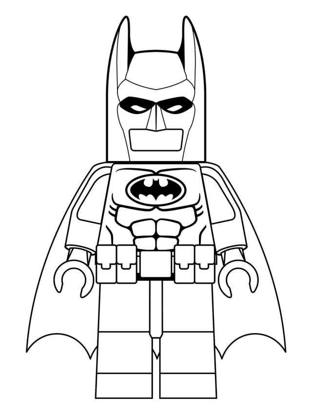Lego batman to print - Lego Batman Kids Coloring Pages