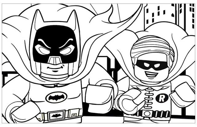 Lego batman to download - Lego Batman Kids Coloring Pages