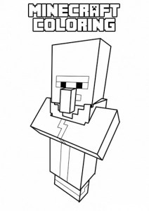 minecraft printables coloring pages # 51