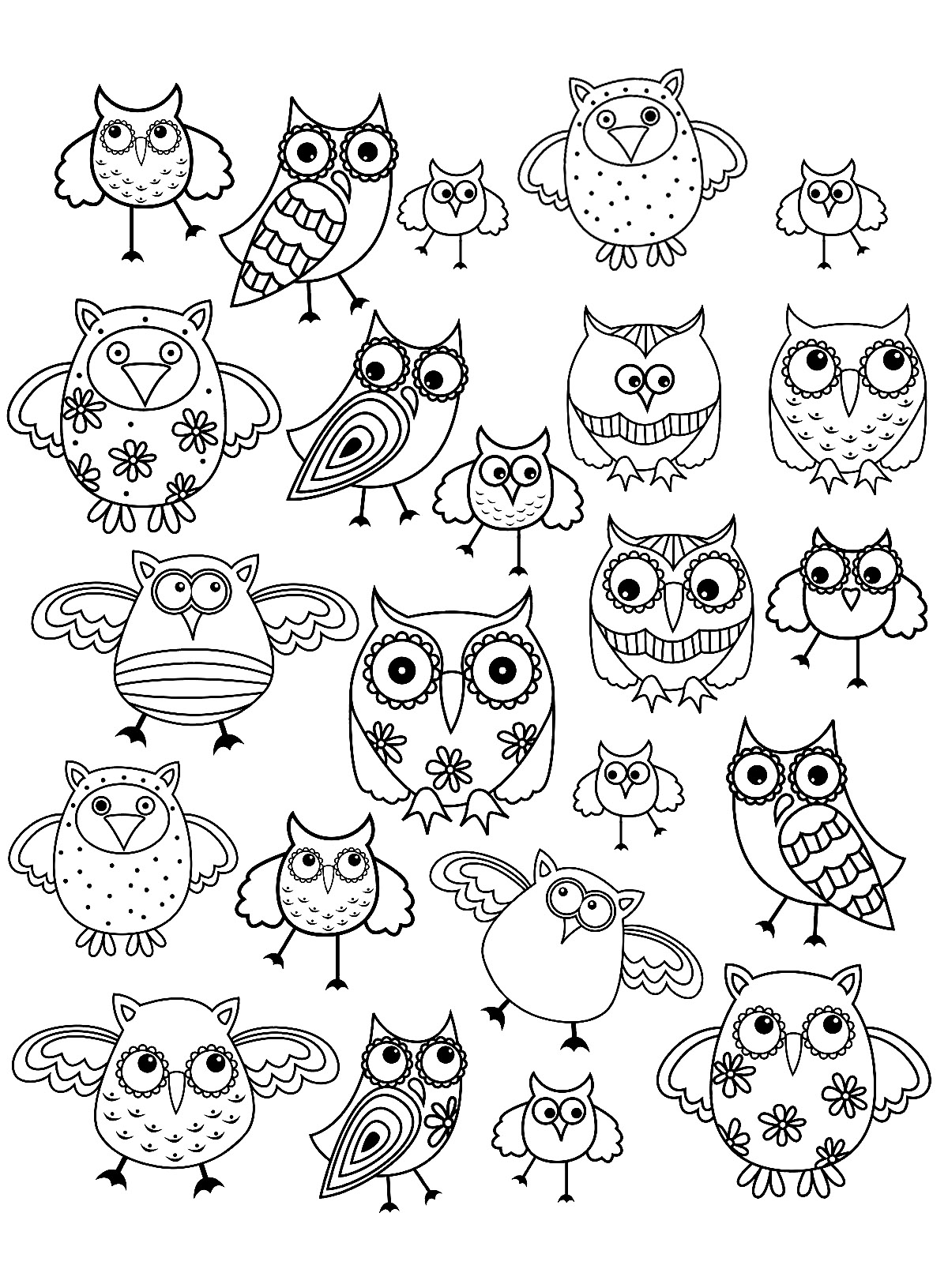 Owls For Children