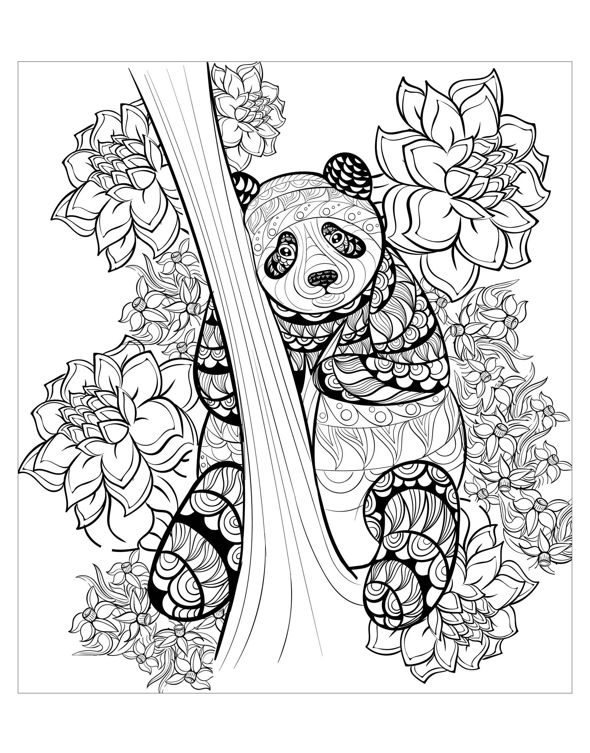 Pandas To Print For Free