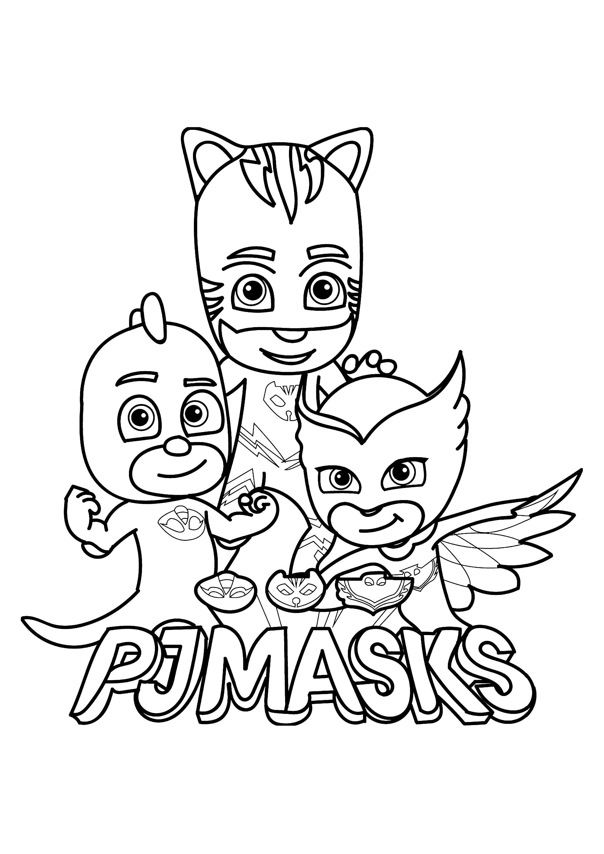 Pj Masks For Kids