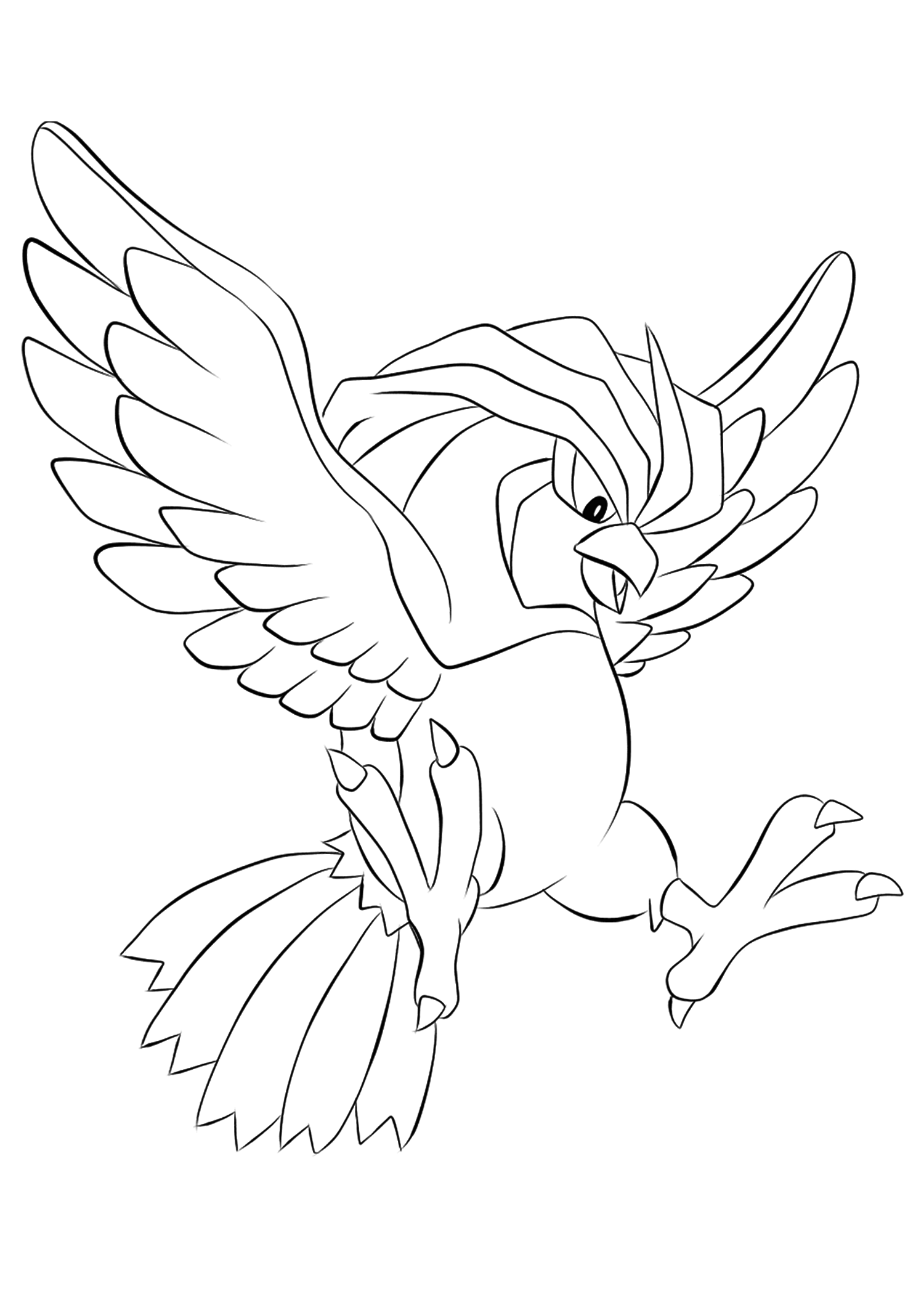 Number 17 Coloring Page