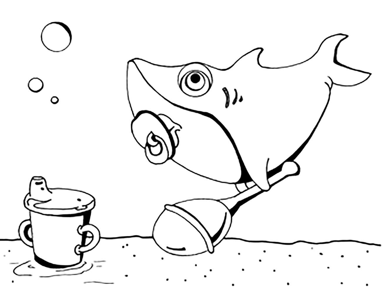 Sharks To Print