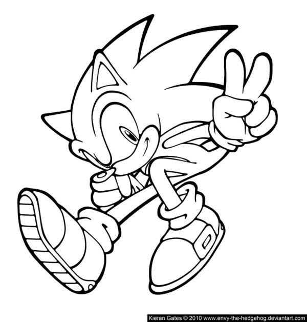 sonic color pages # 4