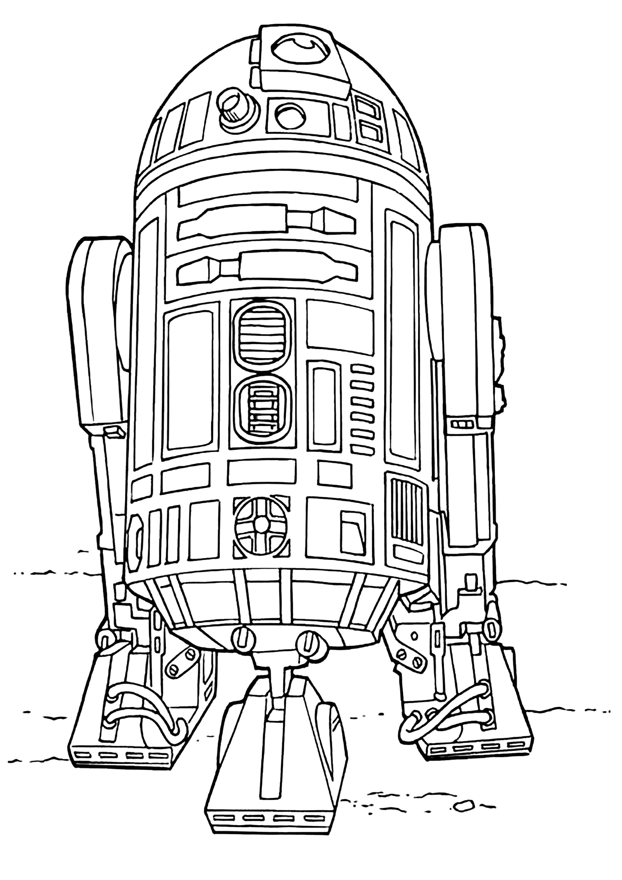 Star Wars To Color For Kids