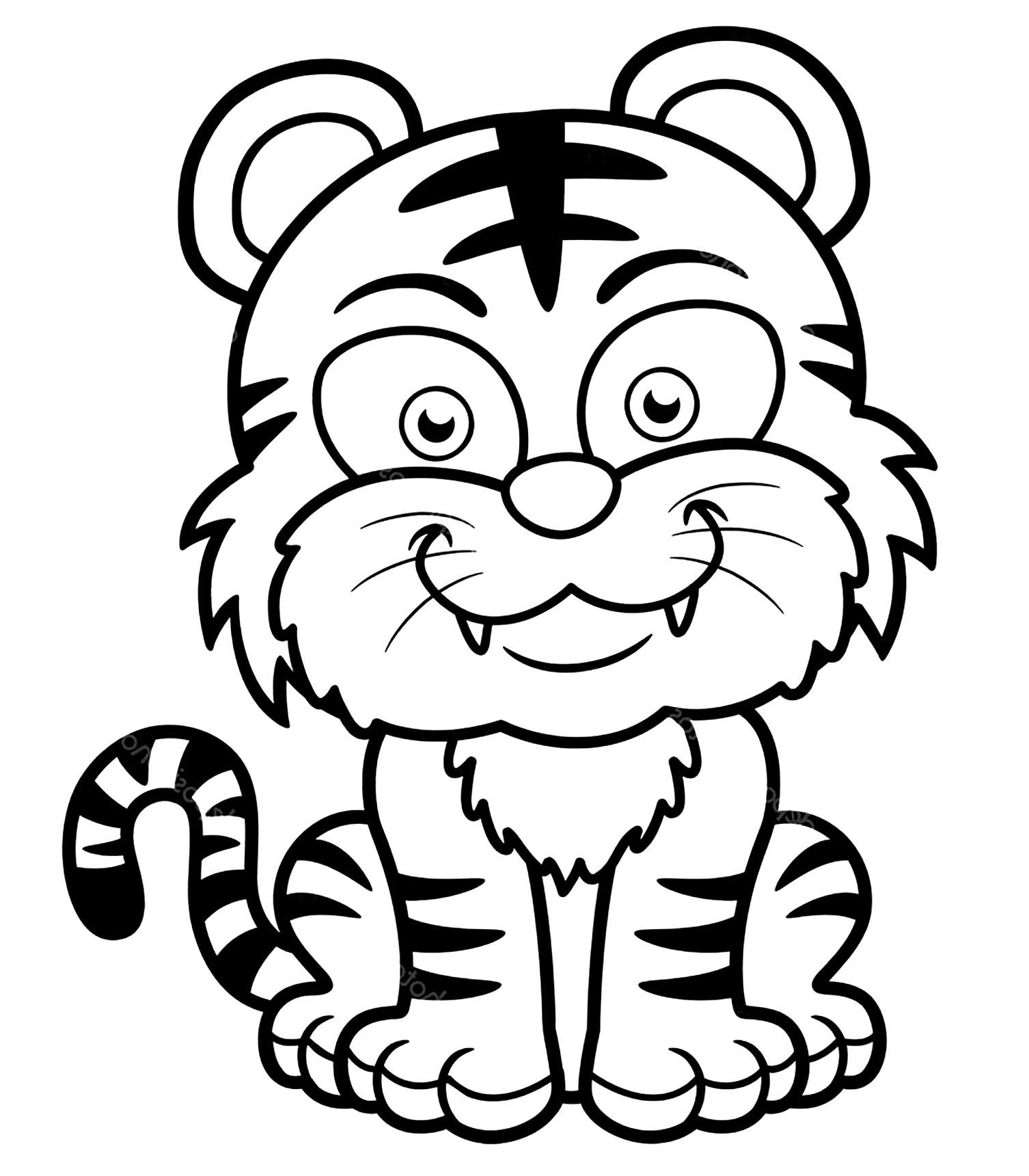 Detroit Tigers Coloring Pages