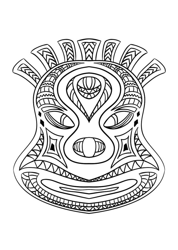african coloring pages # 4