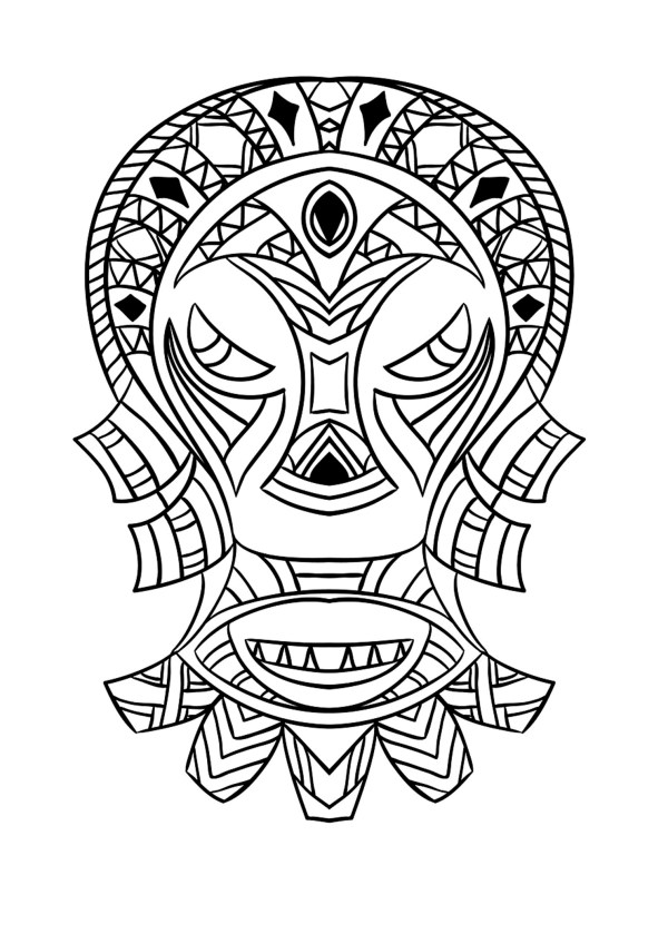 african coloring pages # 3