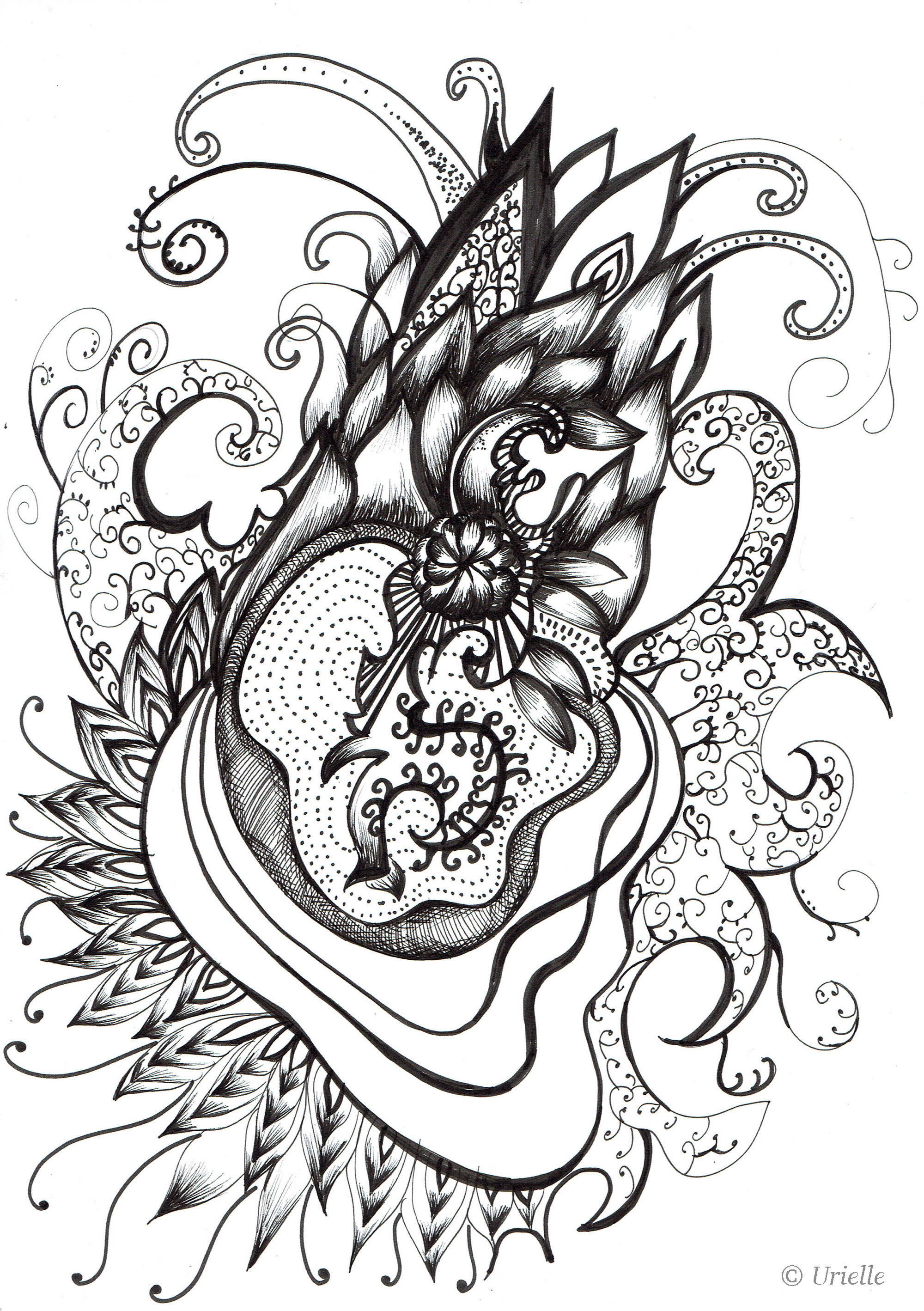 Heart coloring pages adults, love birds coloring pages