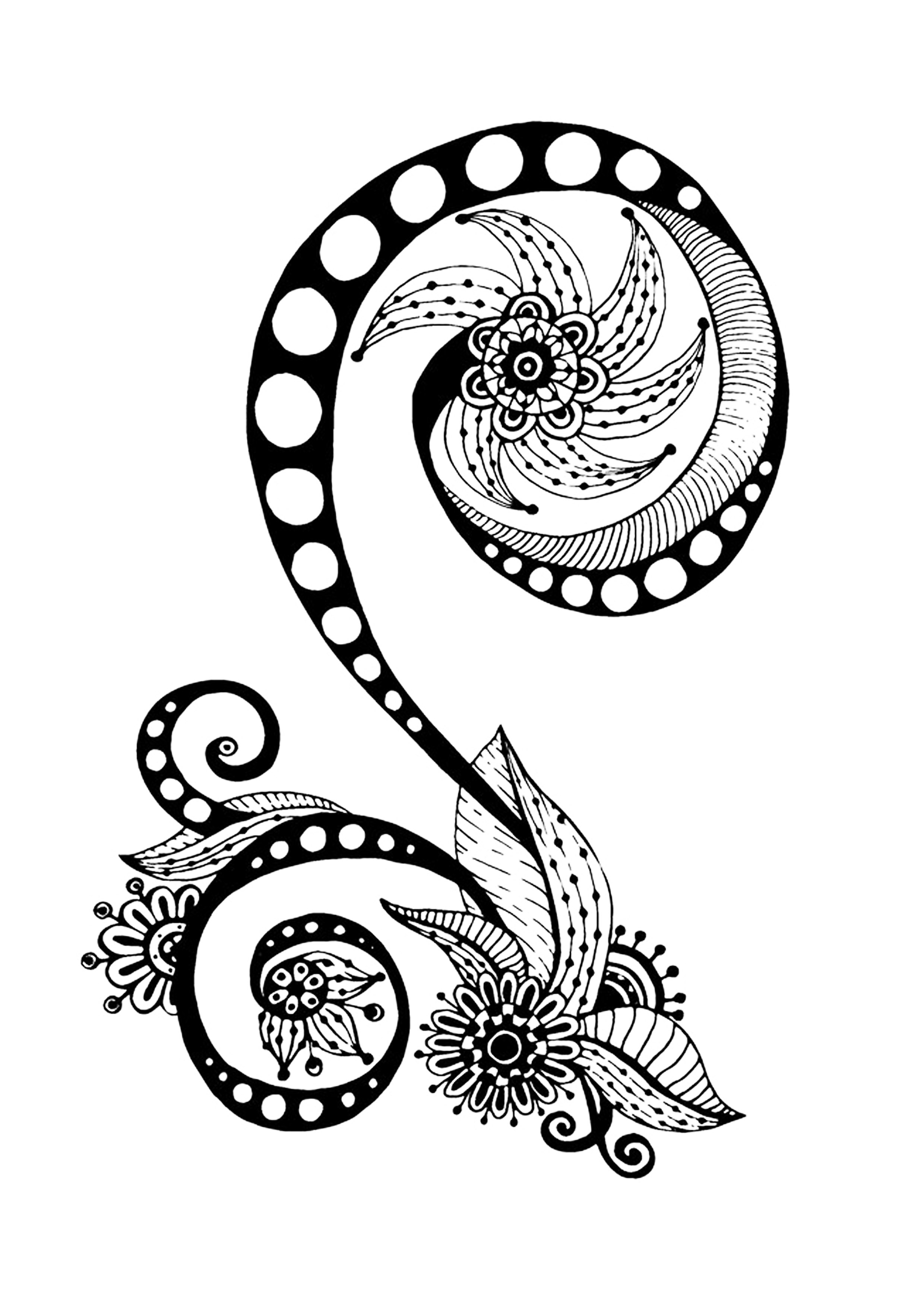 Zen Antistress Abstract Pattern Inspired Anti Stress