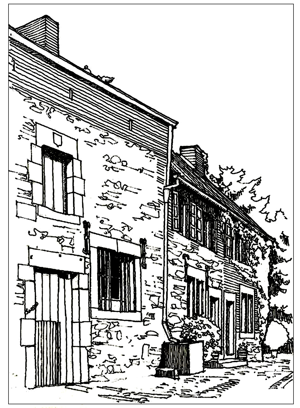 Architecture Typical Houses In France