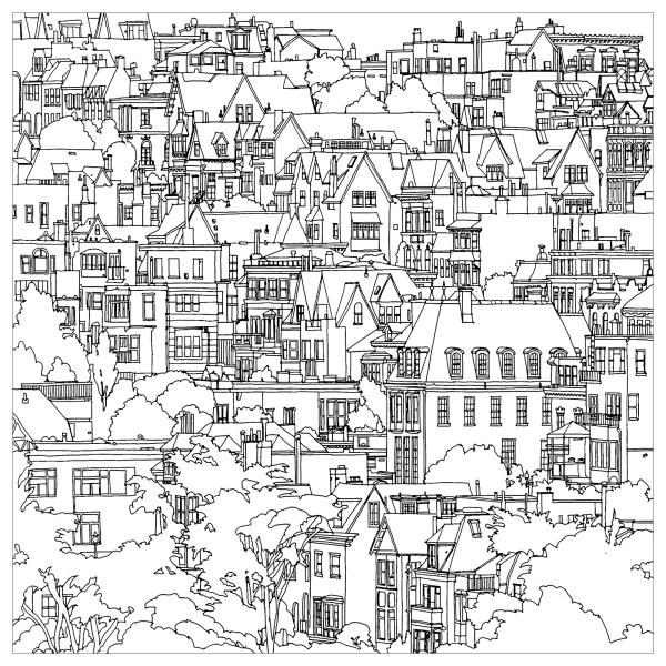 city coloring pages # 8