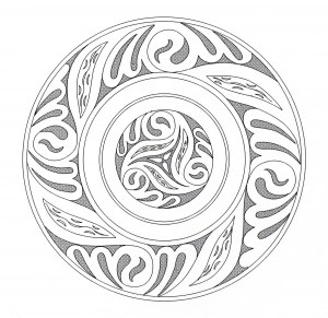 Celtic Art Coloring Pages For Adults