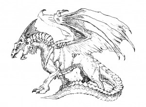 coloring pages dragon # 15