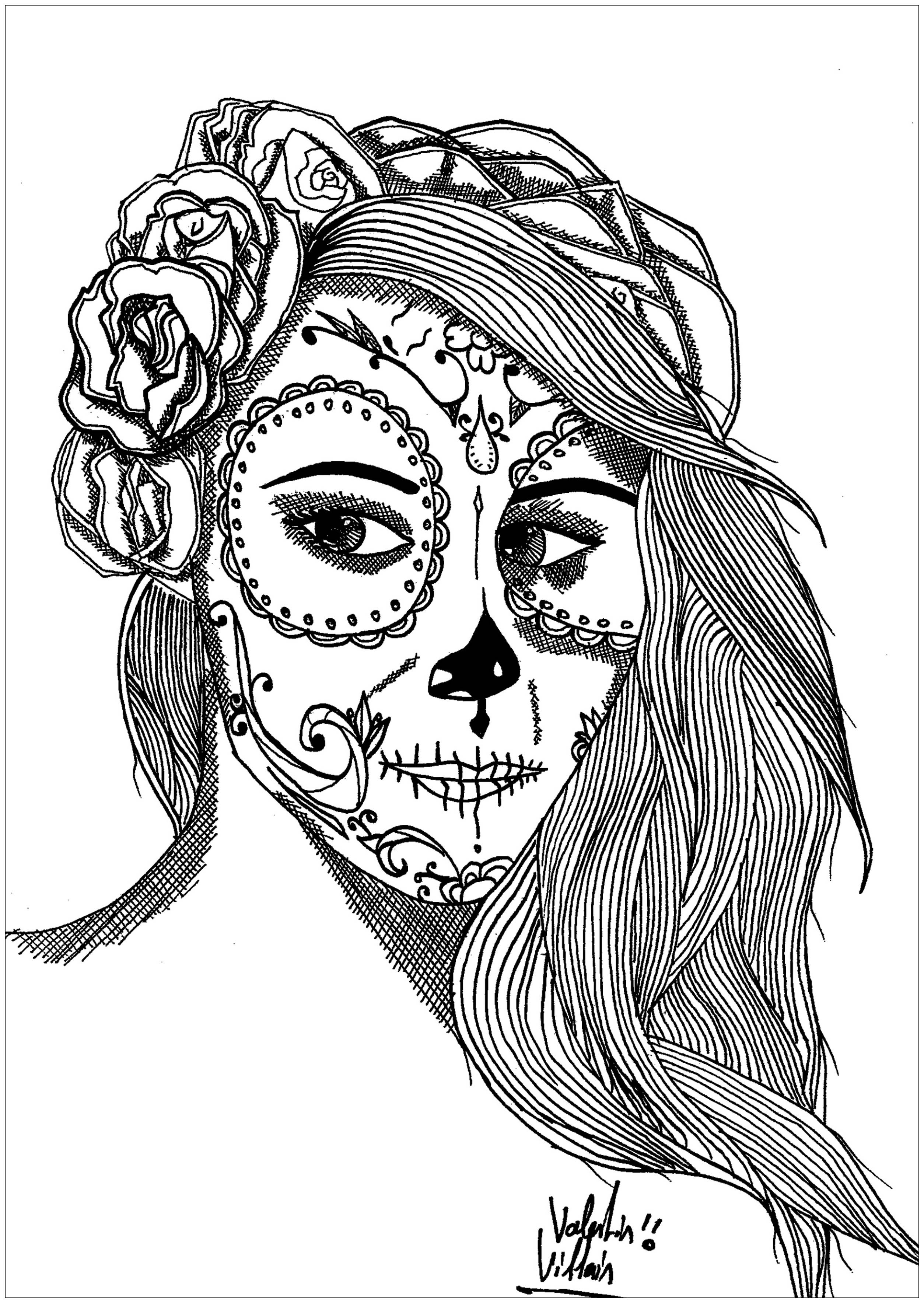 Mexico Coloring Pages For Adults