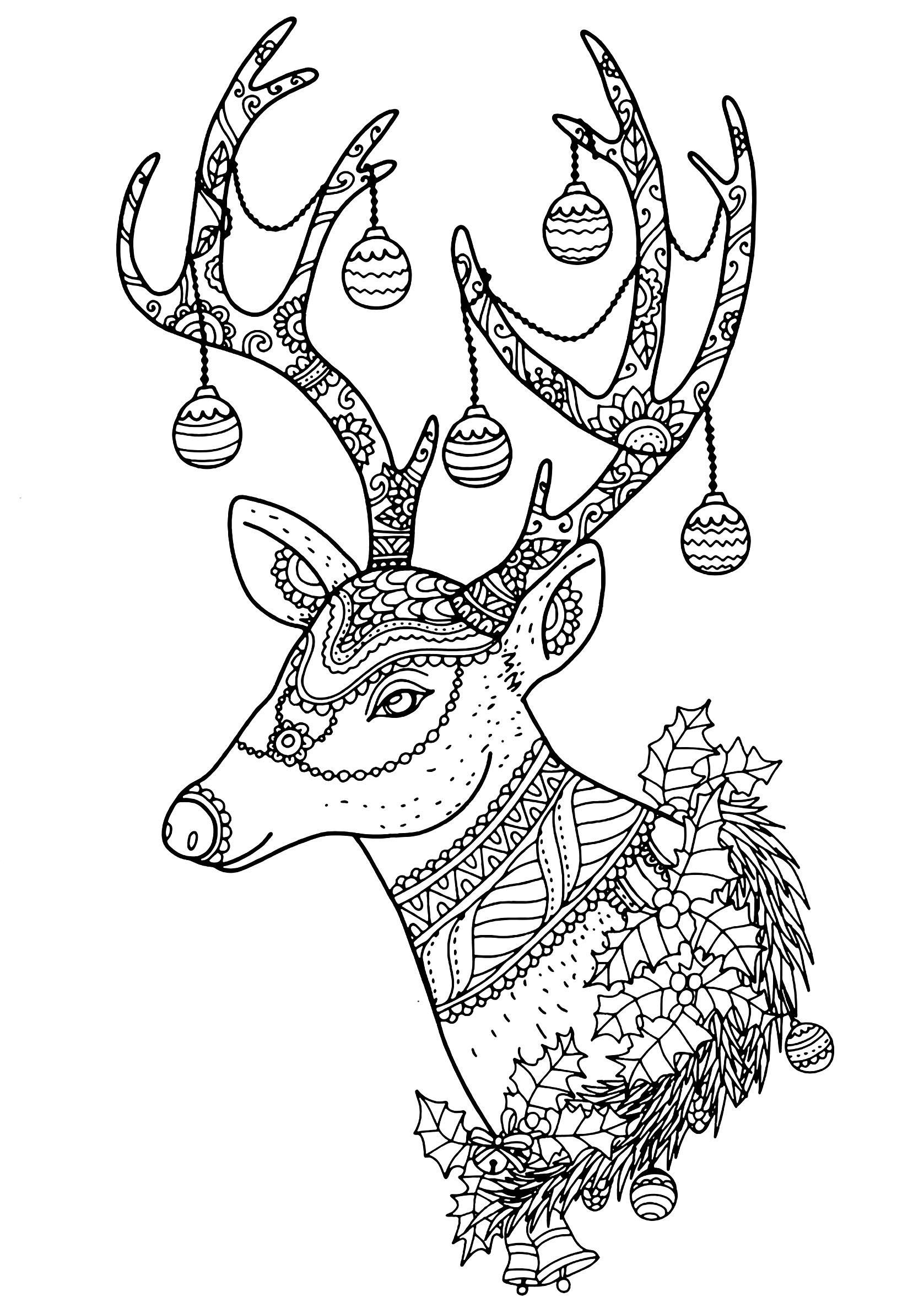 Christmas Reindeer Nontachai Hengtragool Christmas Adult