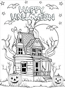 coloring pages halloween # 20