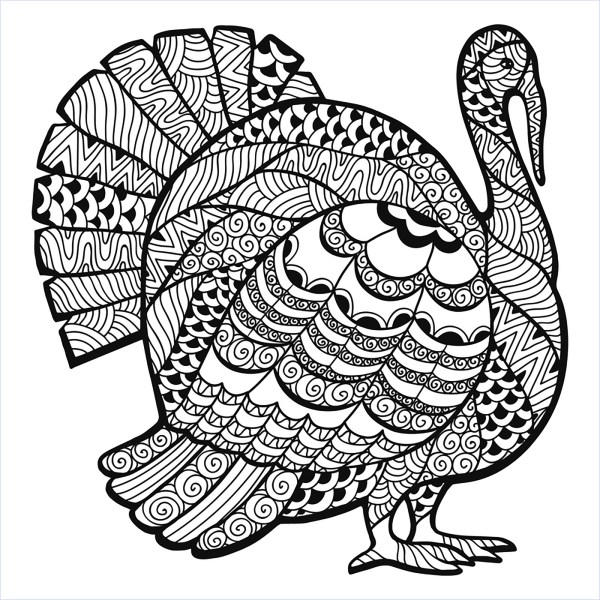 thanksgiving coloring pages # 12