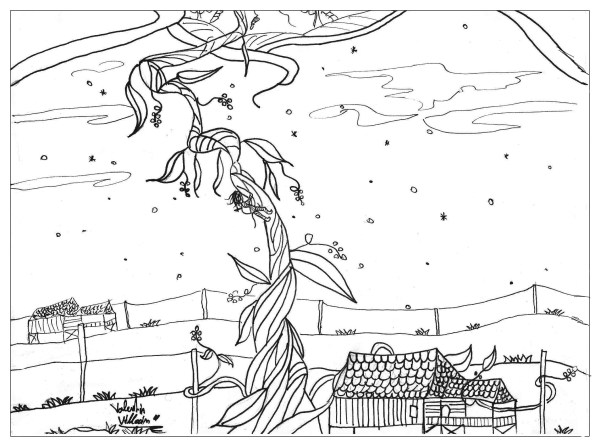 jack and the beanstalk coloring pages # 2