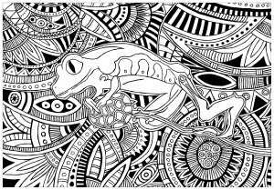 Patterns Coloring Pages For Adults