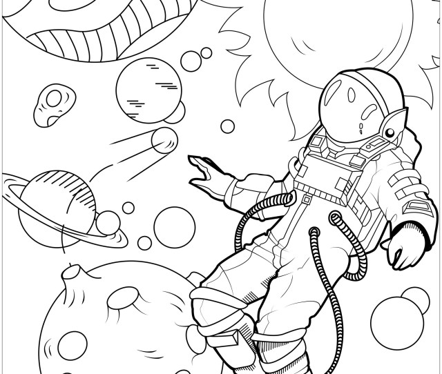 In Weightlessness Unclassifiable Adult Coloring Pages