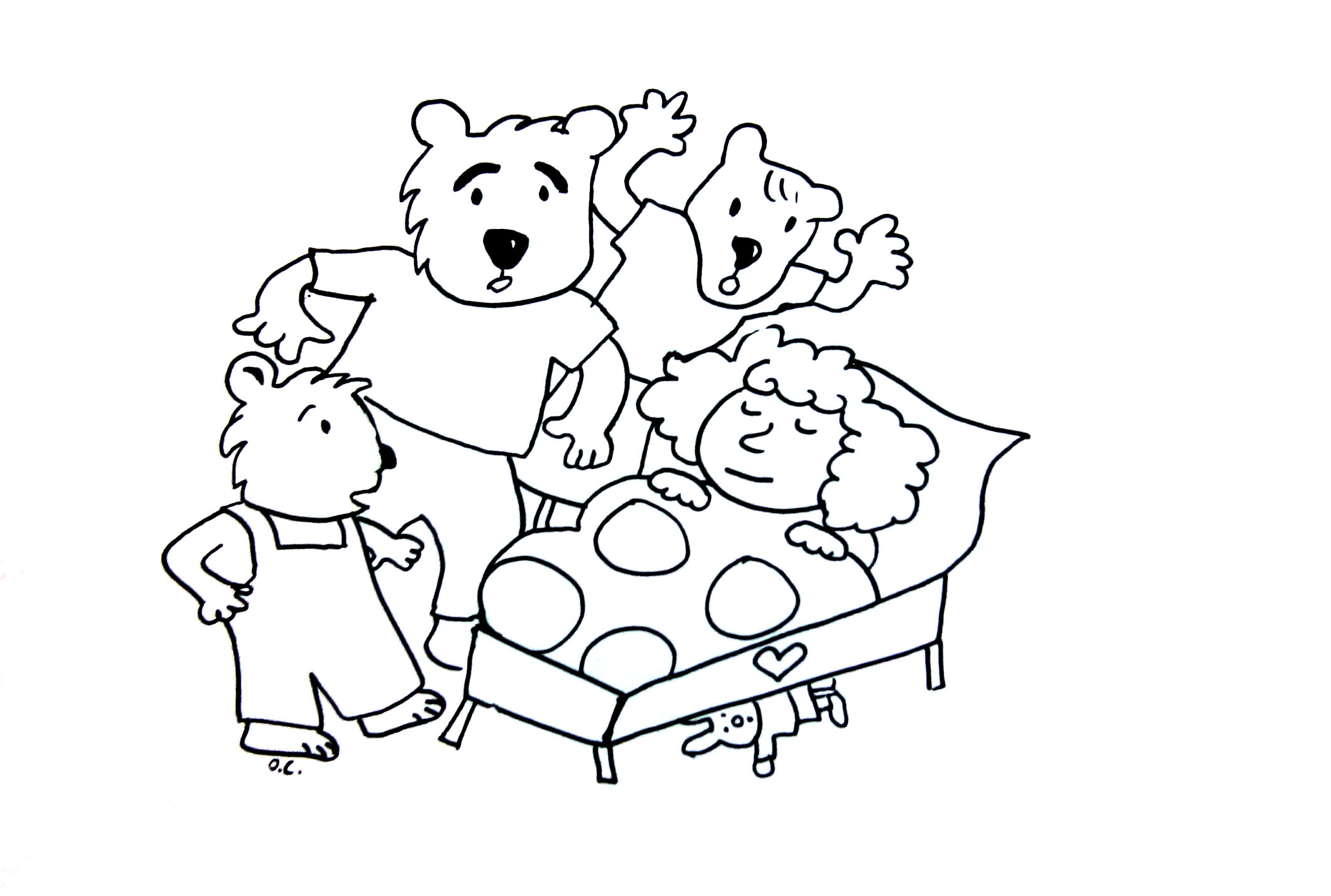 Goldilocks And The Tree Bears