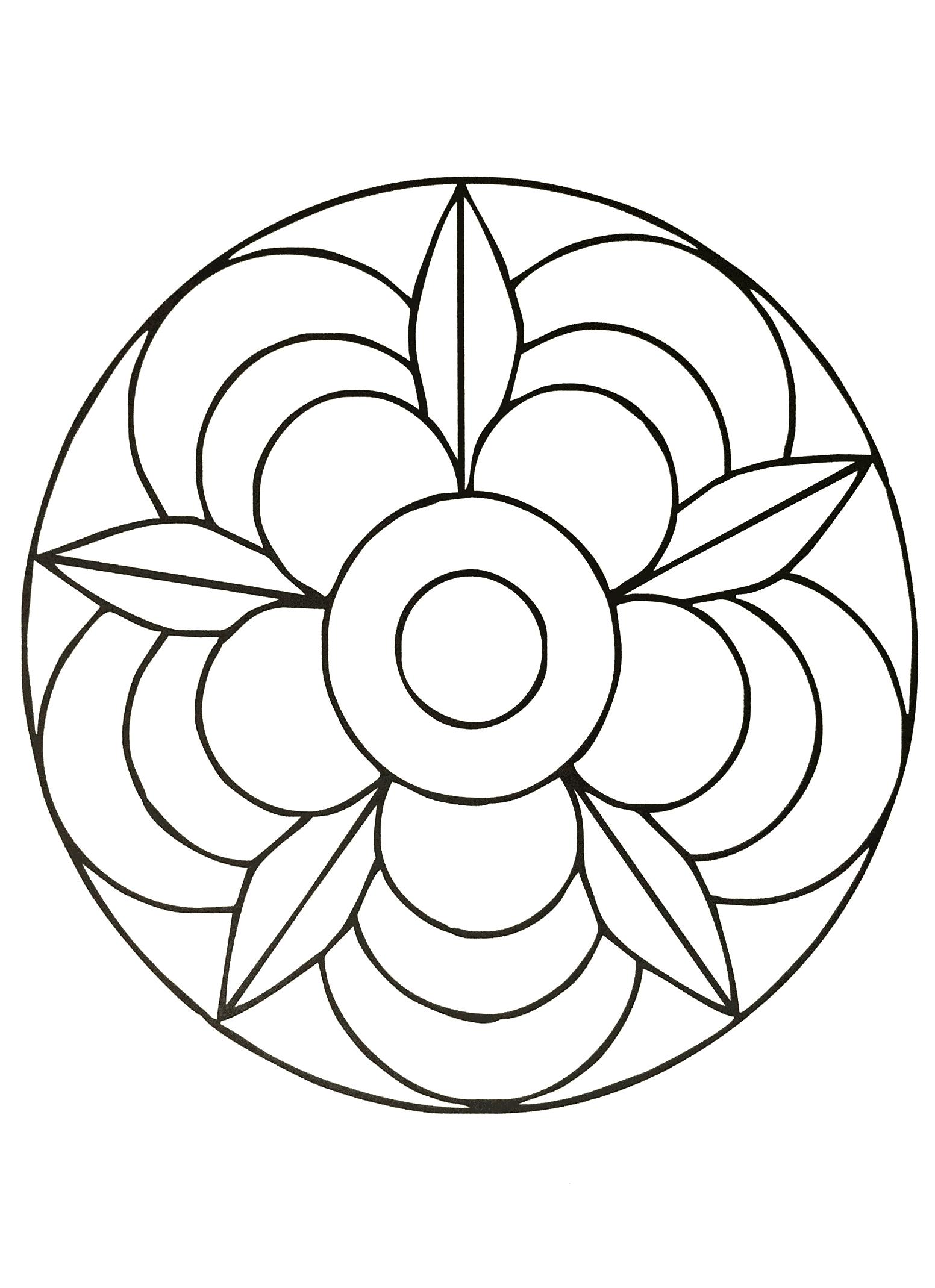 Simple Mandala 40