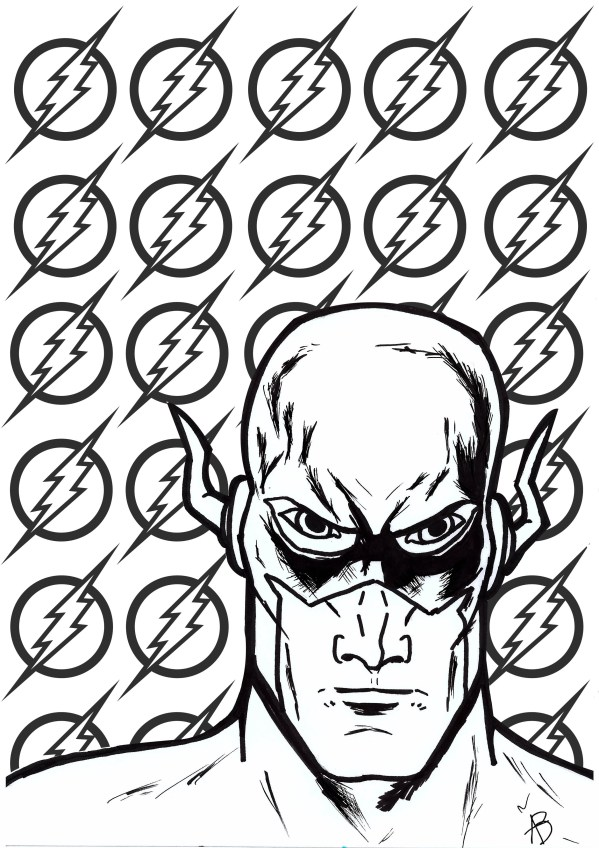 dc comics coloring pages # 7