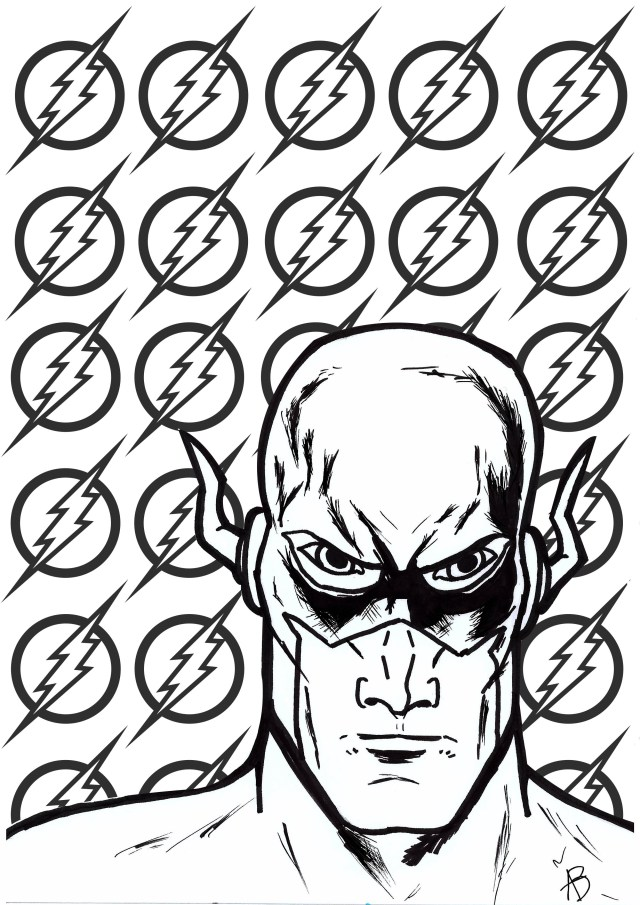 Super hero - Coloring Pages for Adults