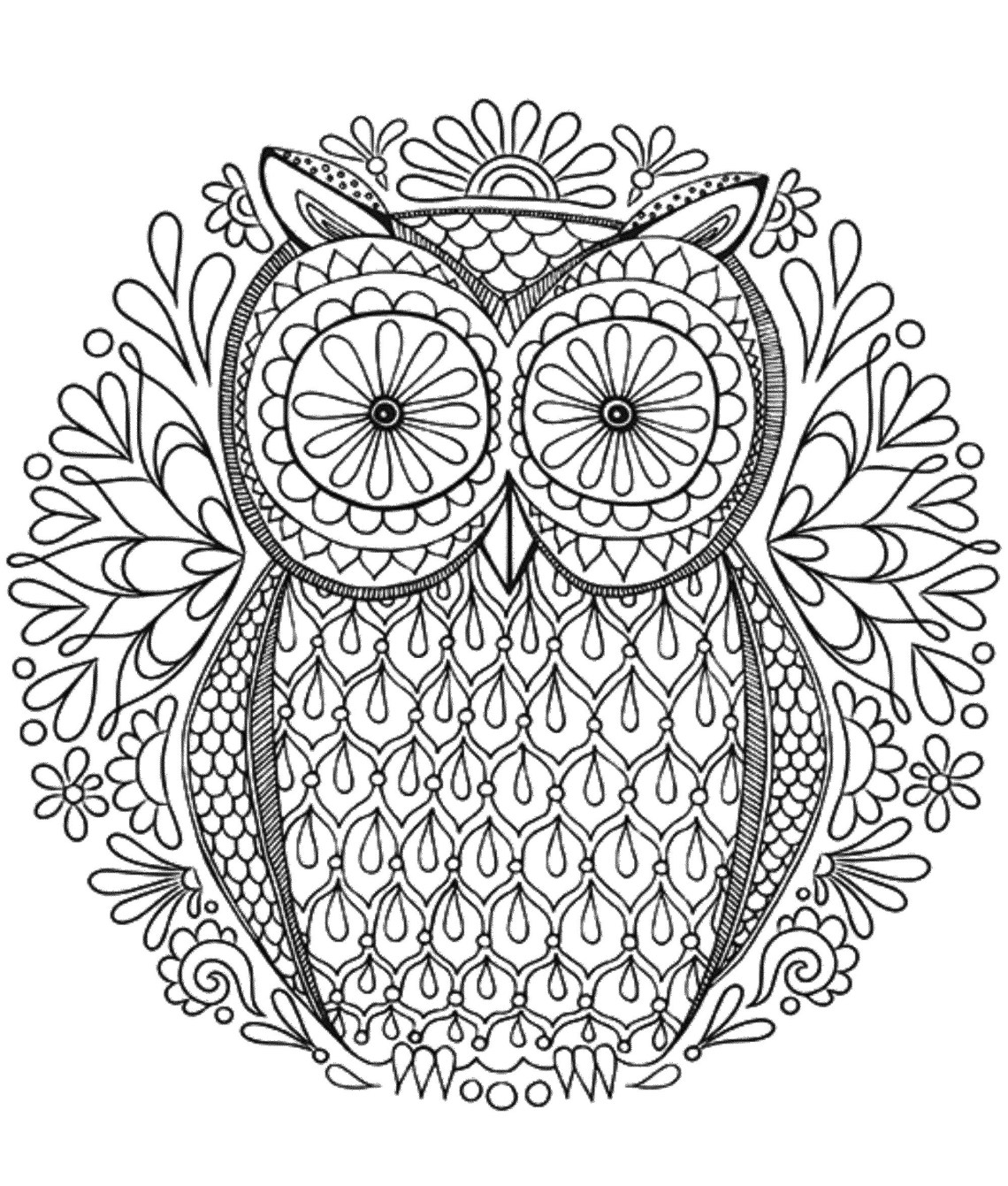 Mandala to download in pdf 6 - M&alas Adult Coloring Pages | free mandala colouring pages for adults