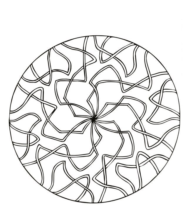 Mandalas to download for free 30 - Mandalas Adult Coloring Pages