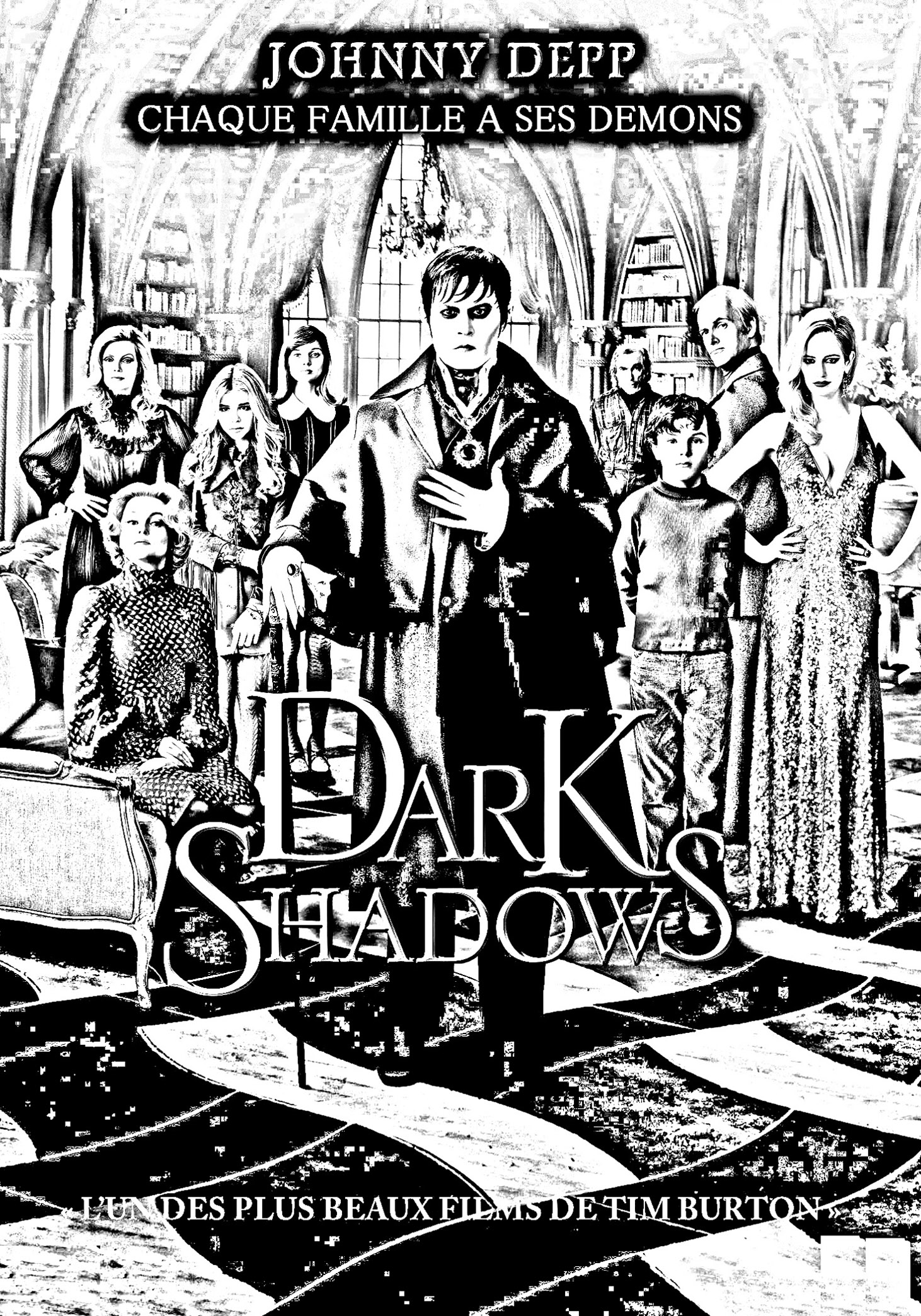 Movie Dark Shadows Movies Adult Coloring Pages