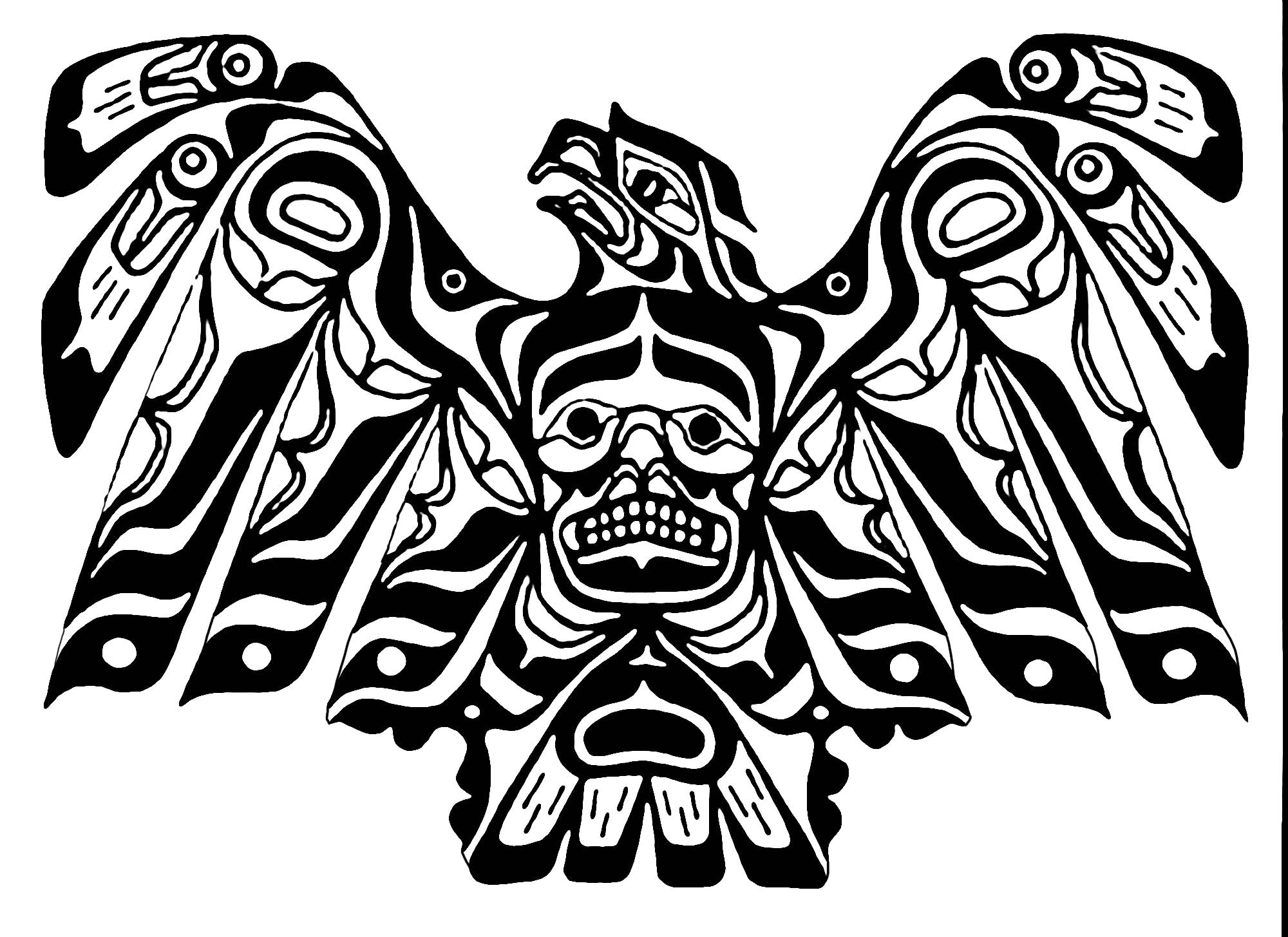 Fresh Native American Coloring Pages