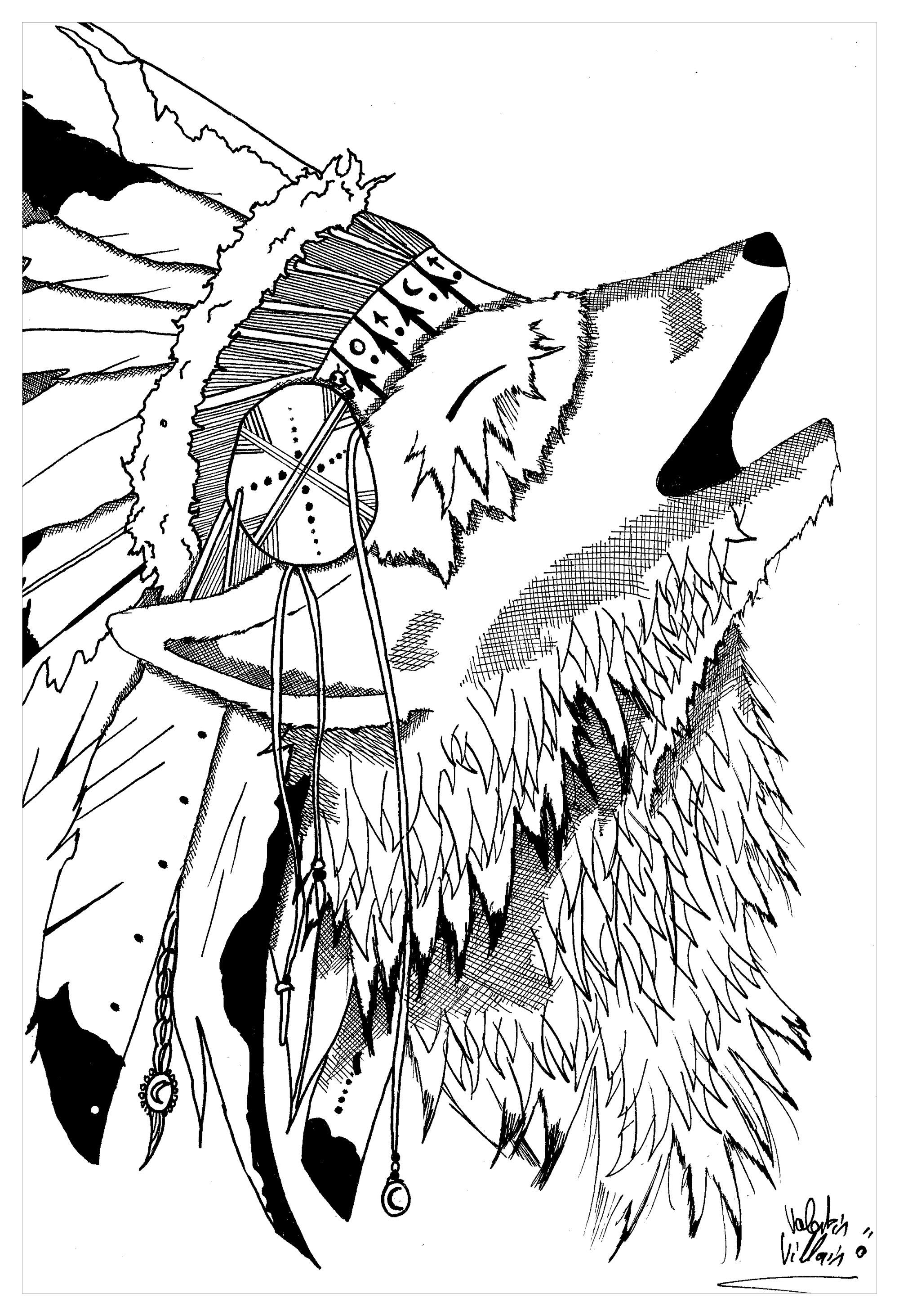 Wolf By Valentin