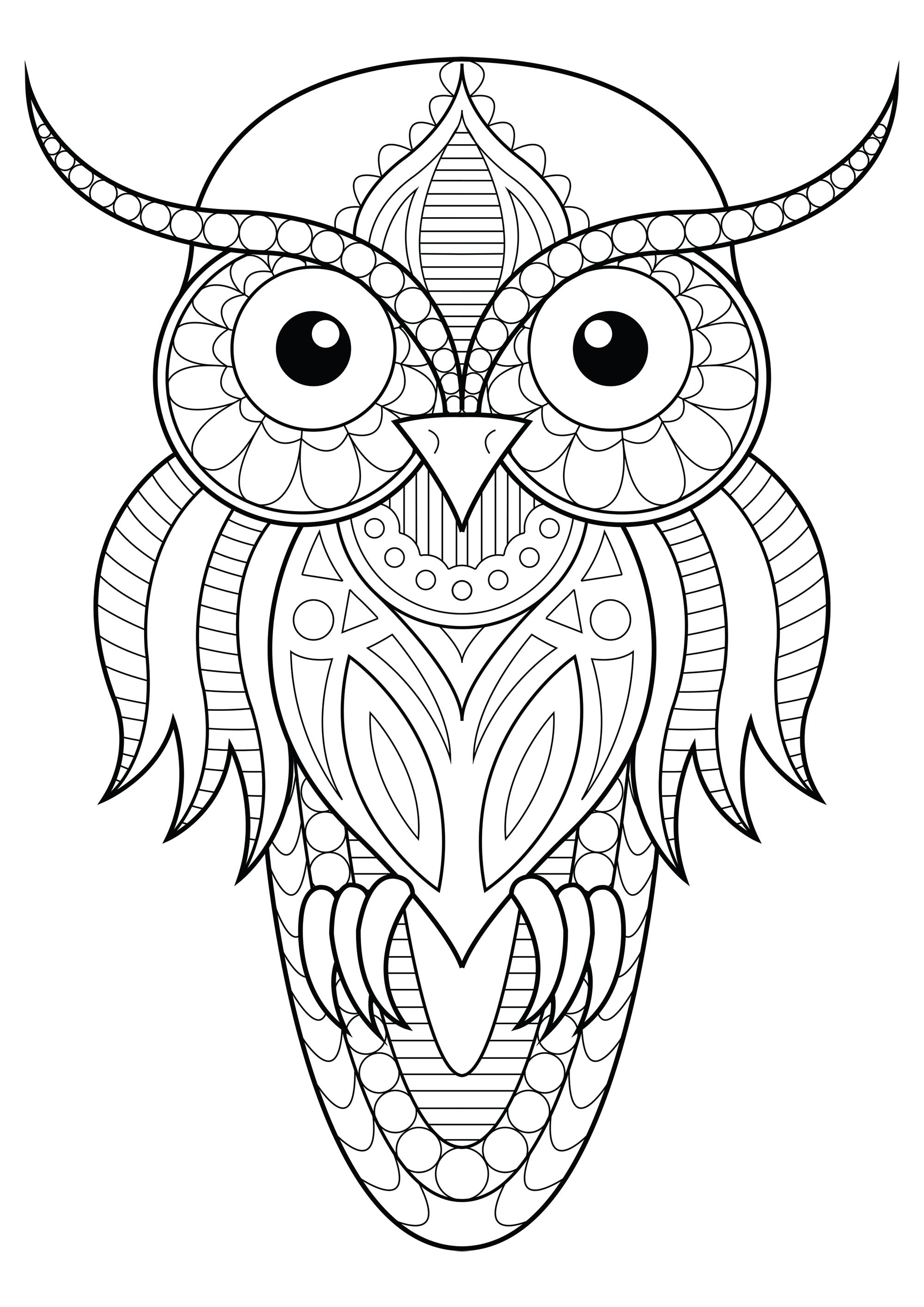 Owl Simple Patterns 1
