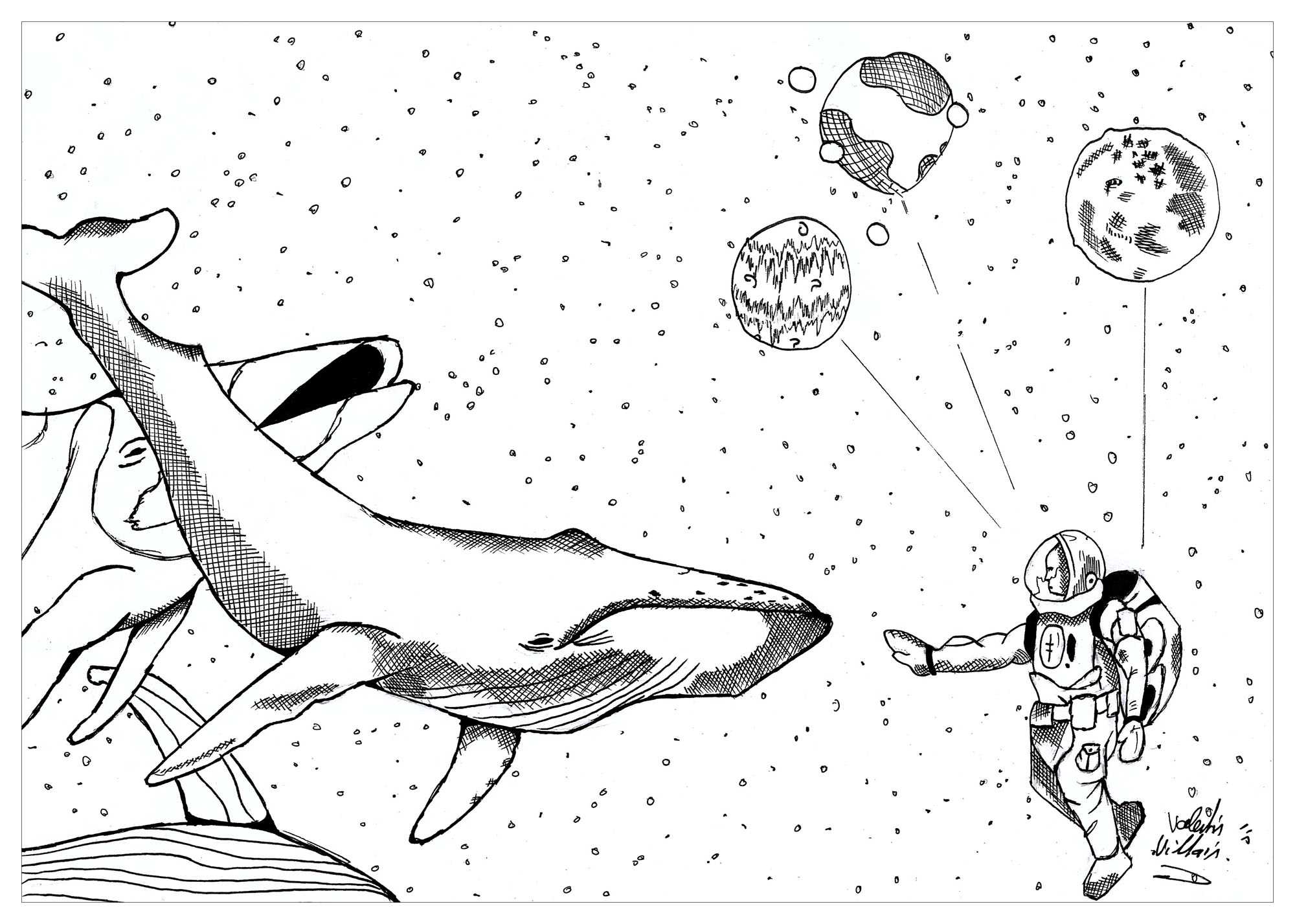 Astro By Valentin Psychedelic Adult Coloring Pages