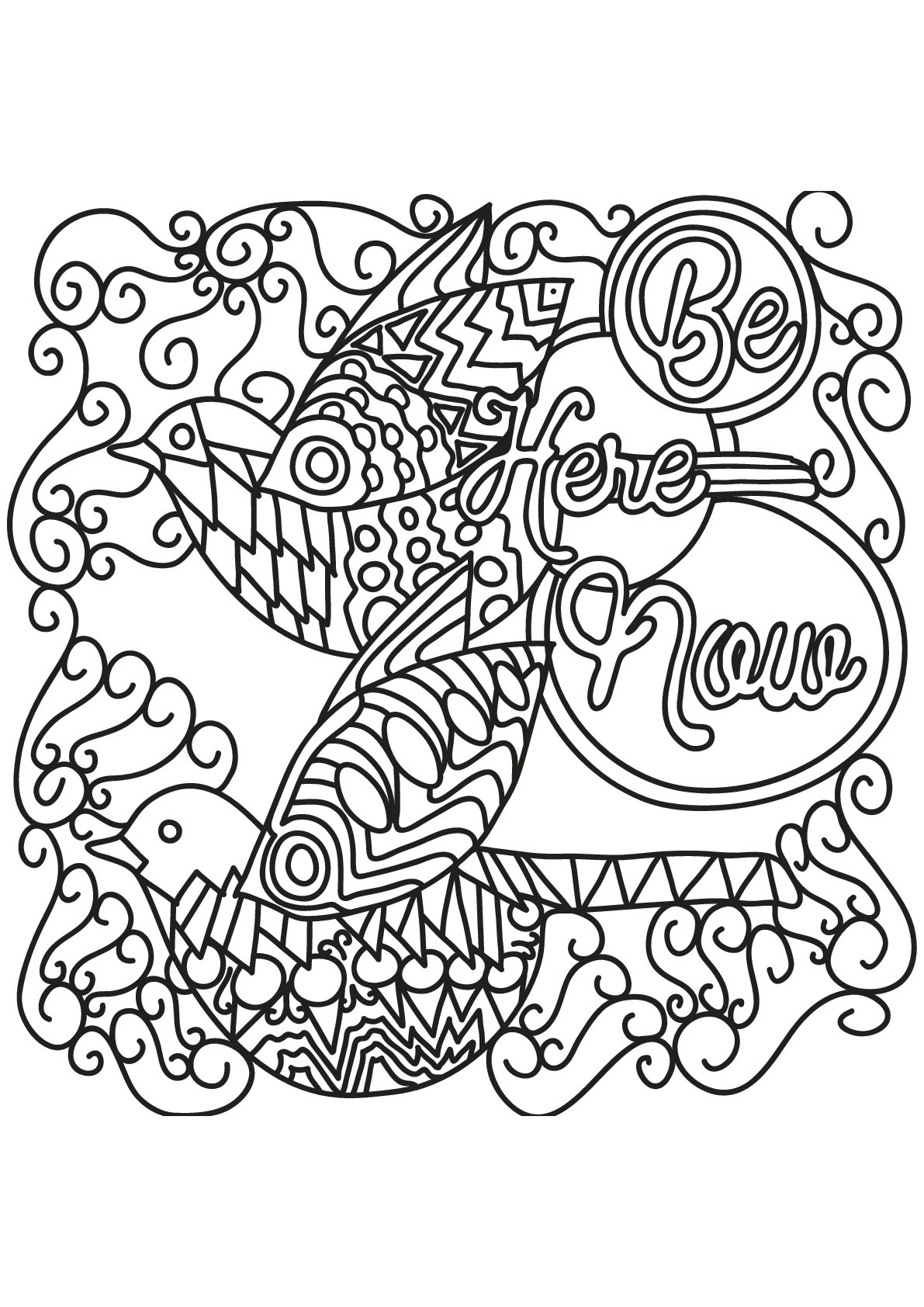 Free book quote 16 - Quotes Adult Coloring Pages | printable coloring pages for adults quotes