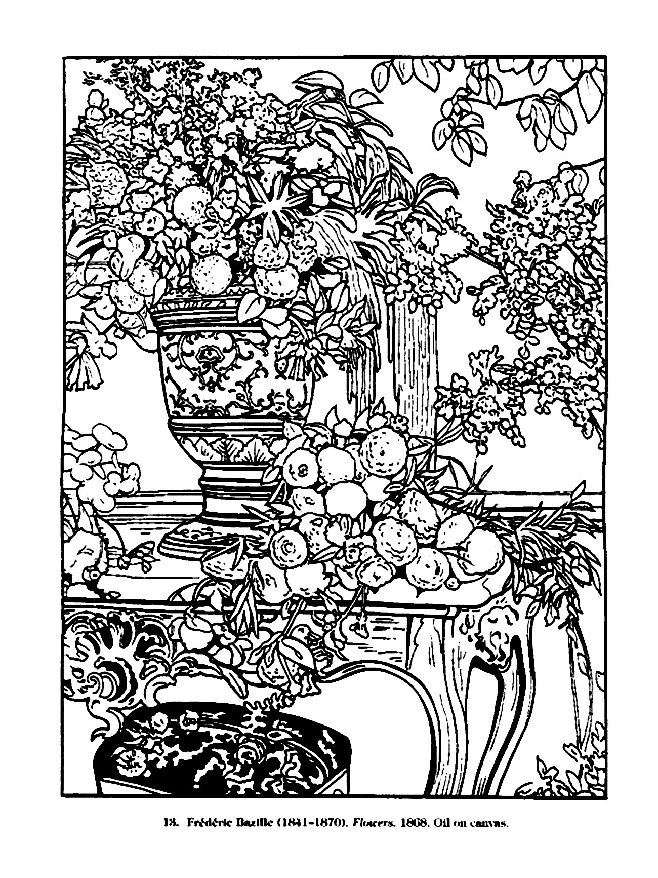 Vintage Coloring Pages For Adults The Ideas Of Coloring Page