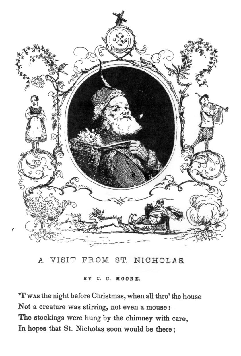 first representation santa claus   vintage adult