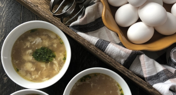 Stracciatella: Italian Wedding Soup