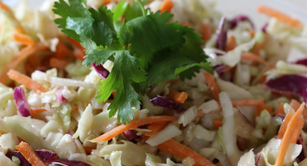How to make Coleslaw…fast!!
