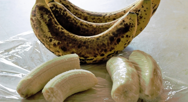 Waste Not, Want not: Freezing Bananas