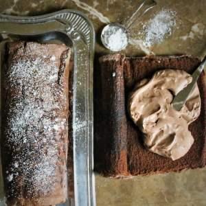 How to make a yule log cake